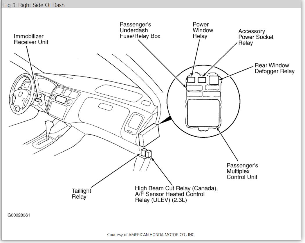 Astonishing 1997 Honda Accord Tail Lights Wiring Diagram Wiring Diagram Gol Wiring Cloud Ymoonsalvmohammedshrineorg