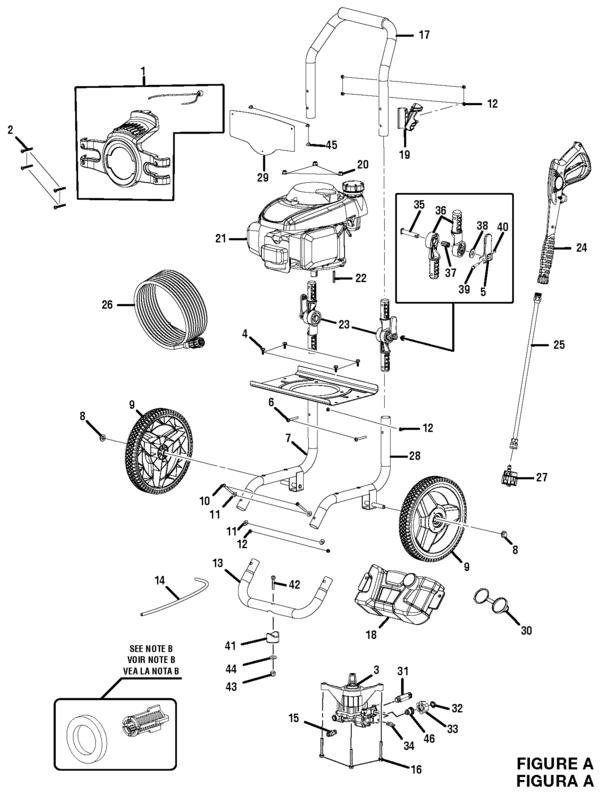 Honda Gcv160 Pressure Washer Pump Parts