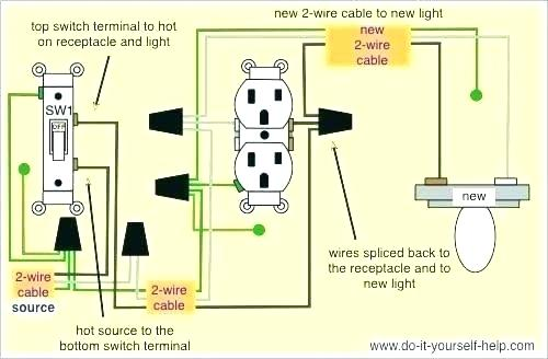 Pleasant Wire Light Switch From Outlet If You Are Installing Your Over A Wiring Cloud Uslyletkolfr09Org