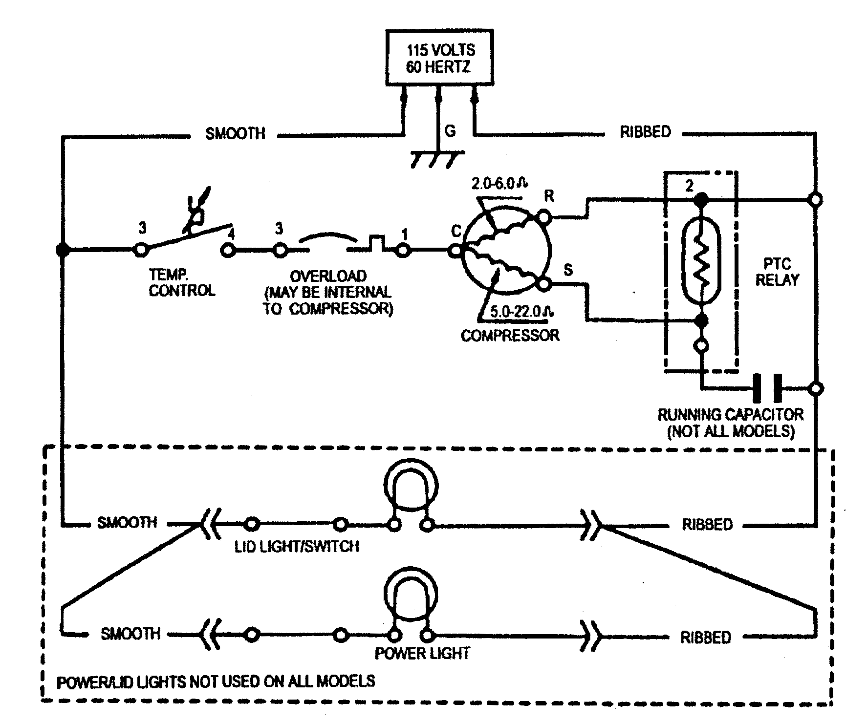 frigidaire valve wiring diagram tf 4415  refrigerator capacitor wiring diagram free diagram  refrigerator capacitor wiring diagram