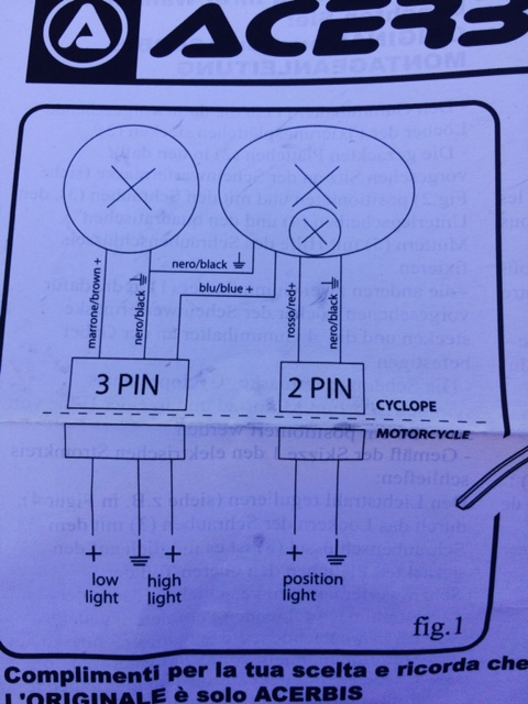 3 Prong Headlight Wiring Diagram - Collection