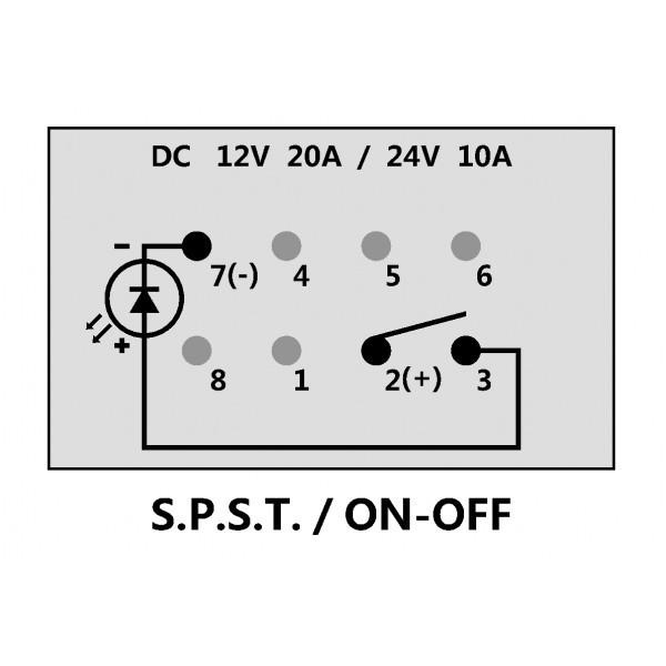 Miraculous Marine Light Switch Wiring Diagram Round Rocker Switch V Led Wiring Cloud Histehirlexornumapkesianilluminateatxorg