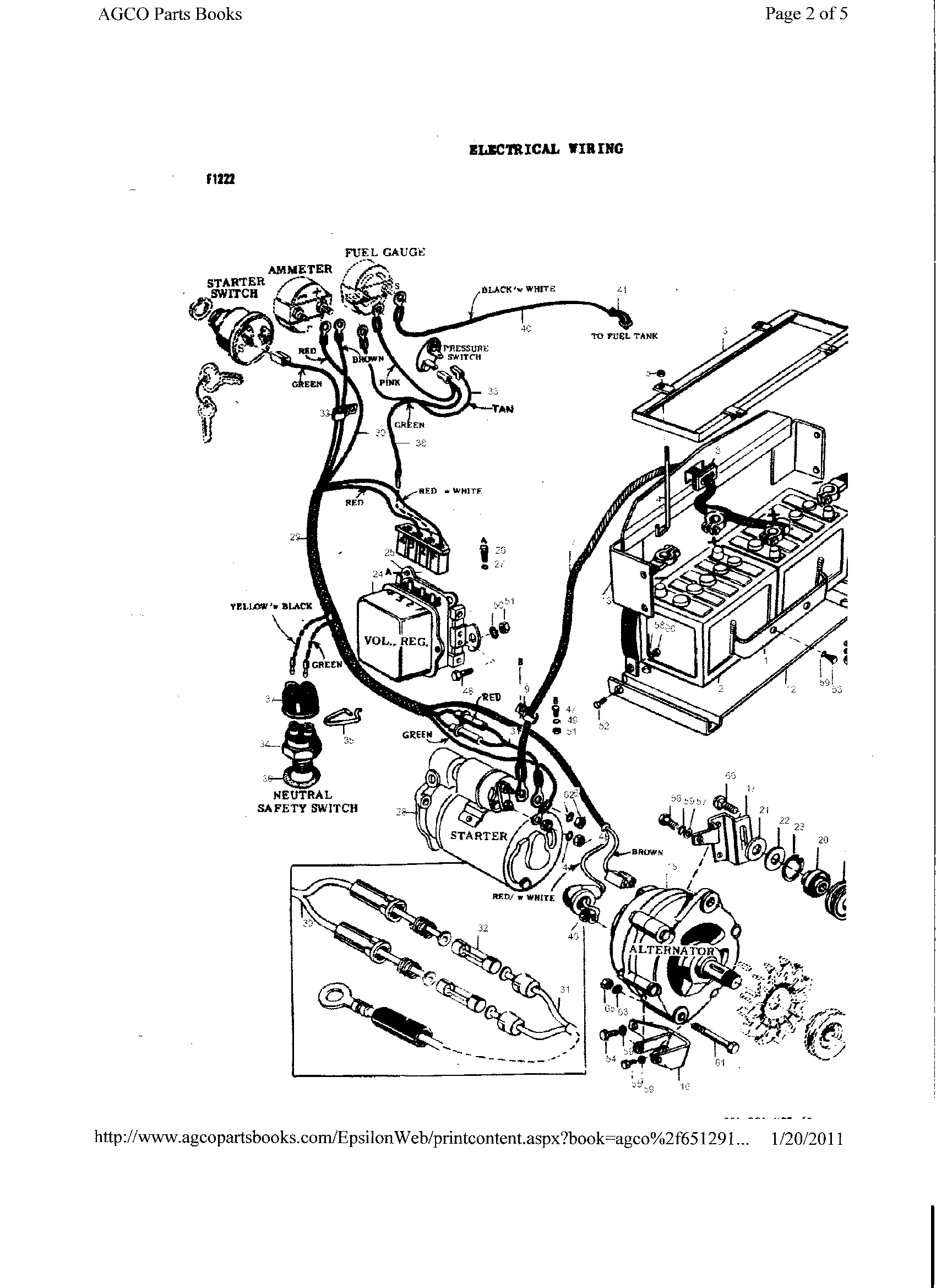 Yg 9024  Massey Ferguson 35 Wiring Diagram 165 Massey