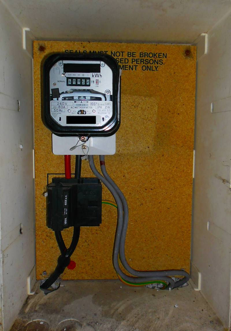 VZ_1827] Electrical Meter Box Installation On Old Electric Meter WiringPenghe Arch Joami Mohammedshrine Librar Wiring 101