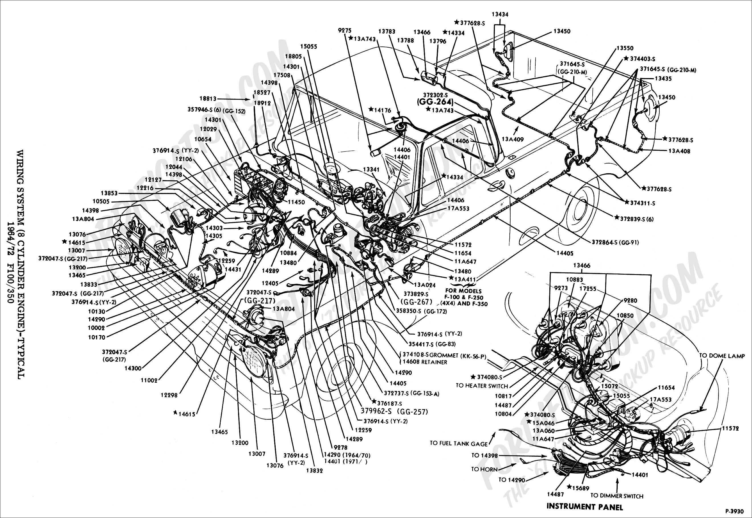 Fabulous Ford Pickup Wiring Diagrams Basic Electronics Wiring Diagram Wiring Cloud Licukshollocom