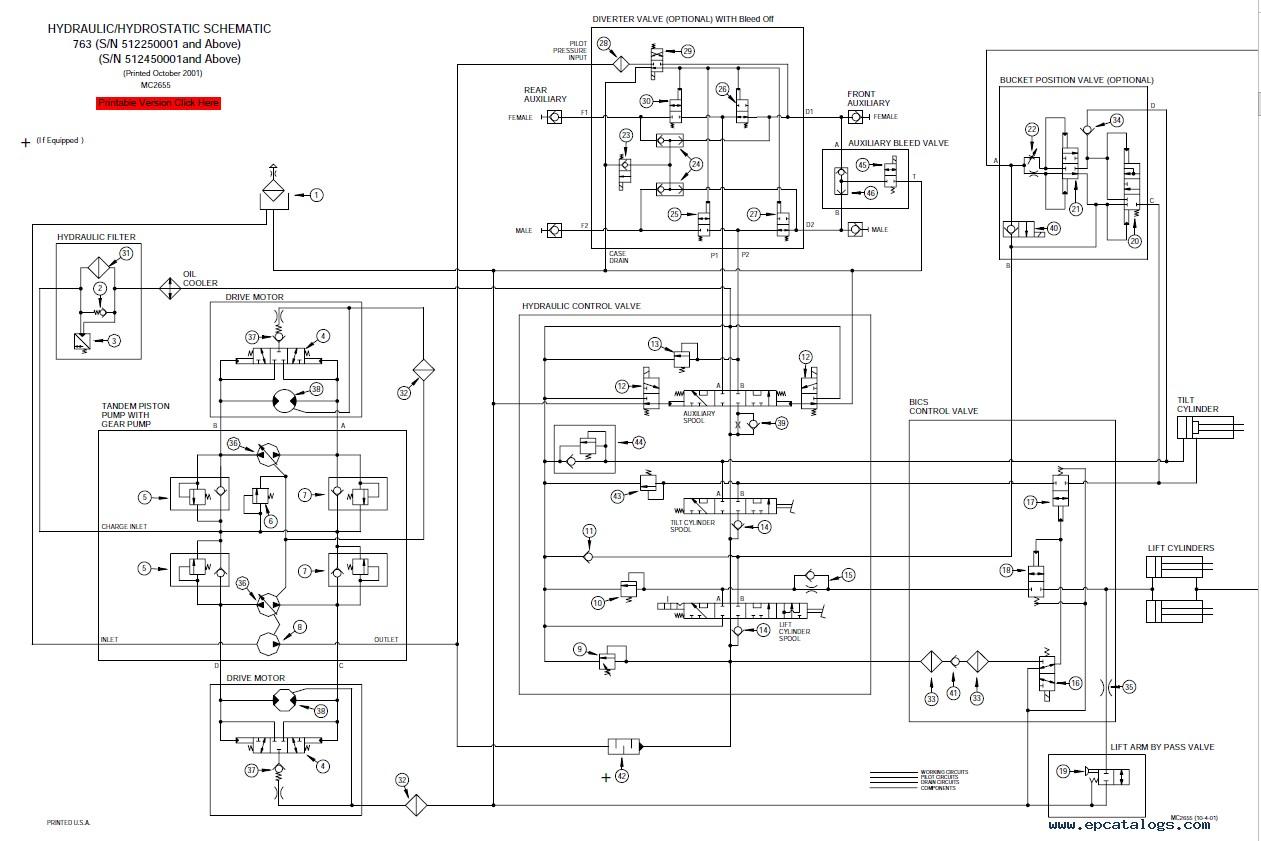 Bobcat S250 Alternator Wiring Diagram