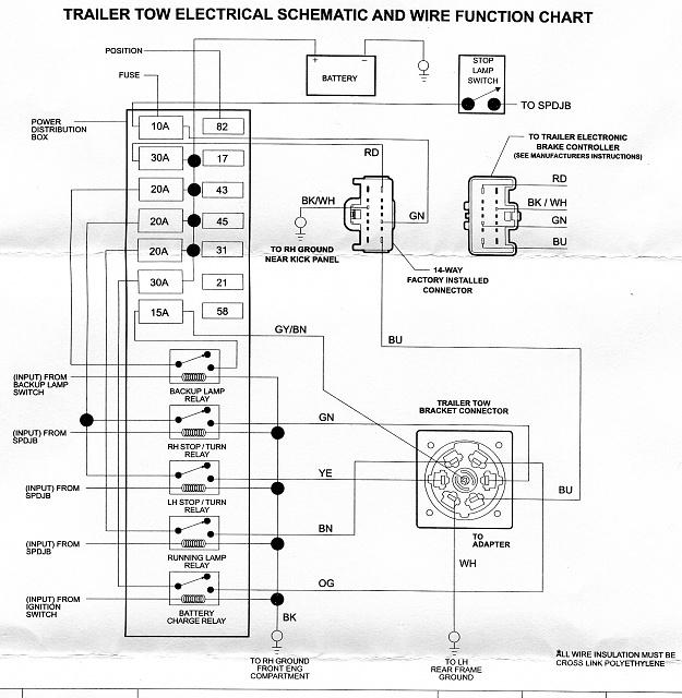 dc6034 ford trailer brake controller wiring diagram