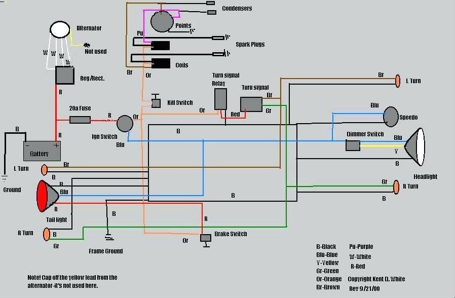 Gambar Wiring Diagram Lampu Kota