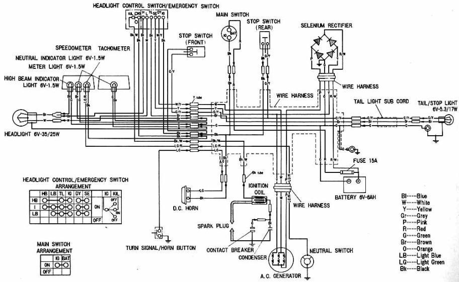 Honda Cb160 Wiring - 2004 Ford Taurus Ecm Wiring for Wiring Diagram  SchematicsWiring Diagram Schematics