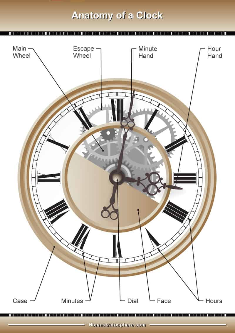 Incredible Likewise Grandfather Clock Parts Diagram On Parts Of A Clock Diagram Wiring Cloud Waroletkolfr09Org