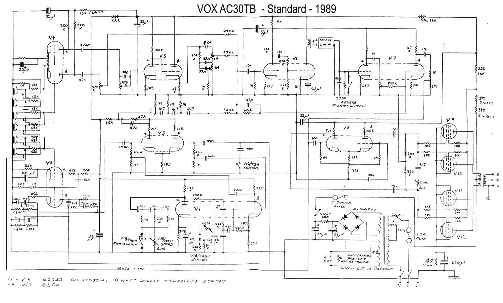 peavey b pickup wiring diagram bz 4758  vintage peavey guitar amplifier schematic free download  vintage peavey guitar amplifier