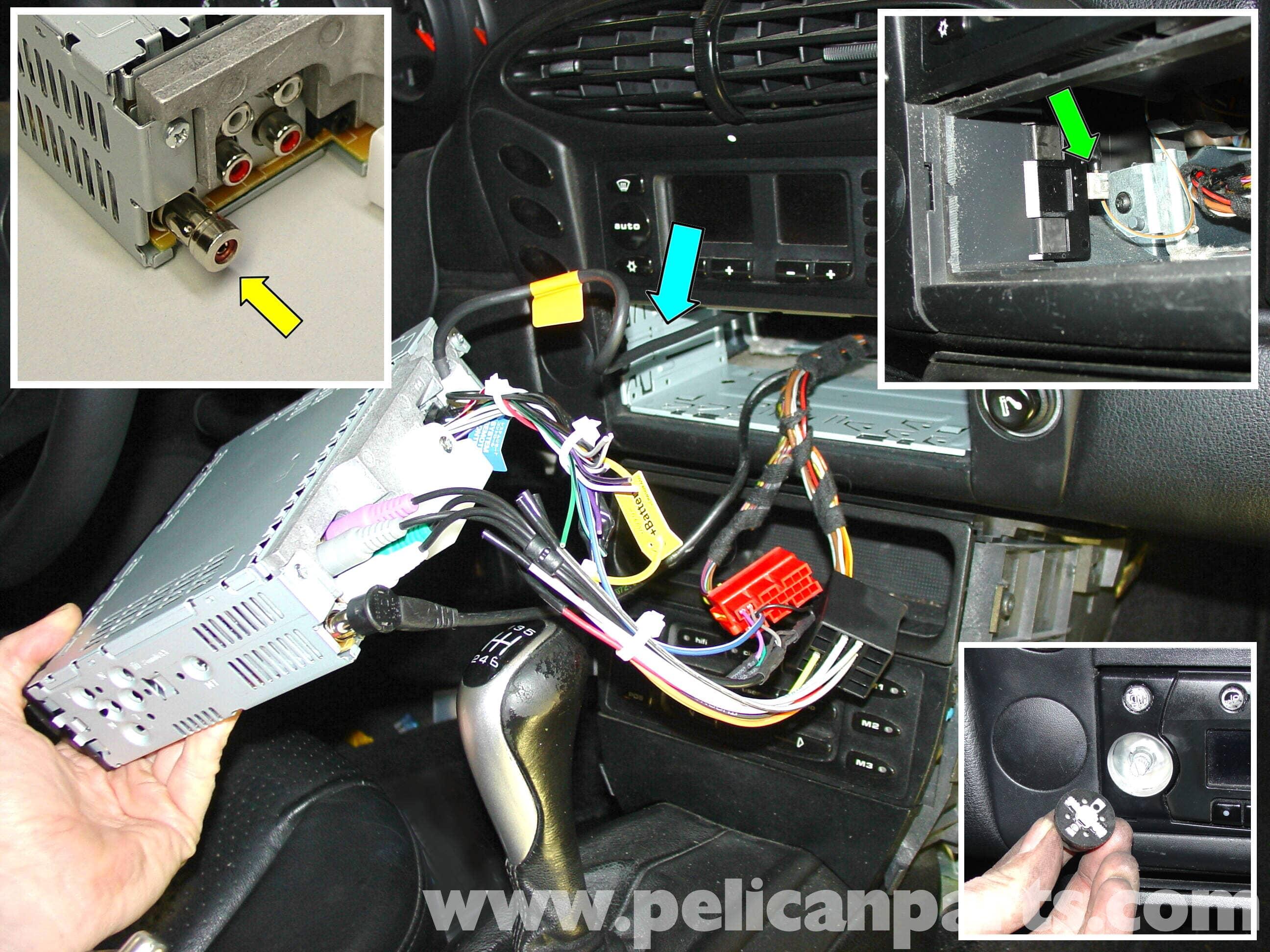 Cool Porsche 911 Carrera Radio Head Unit Installation 996 1998 2005 Wiring Cloud Onicaxeromohammedshrineorg