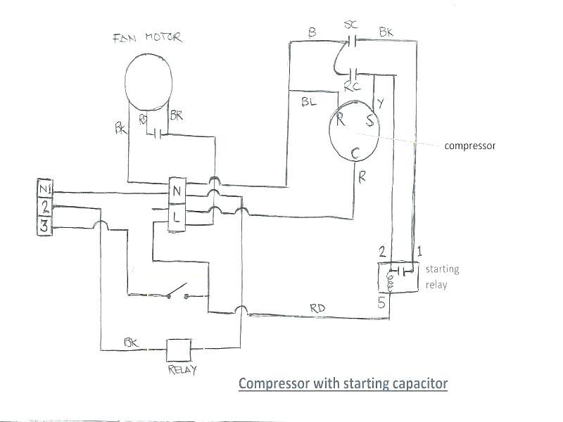 Ac Start Capacitor Wiring Diagram