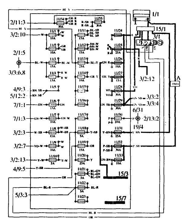 92 volvo 240 fuse box location yy 8057  1991 volvo 240 fuse diagram  yy 8057  1991 volvo 240 fuse diagram