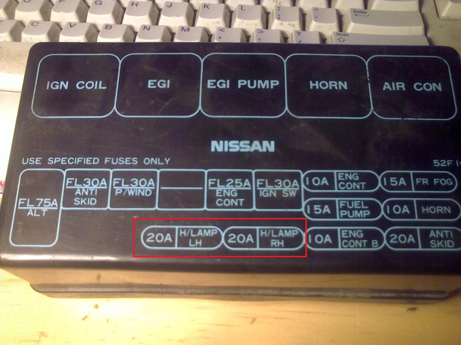 ONLINE PDF 93 Nissan 240Sx Fuse Box Diagram