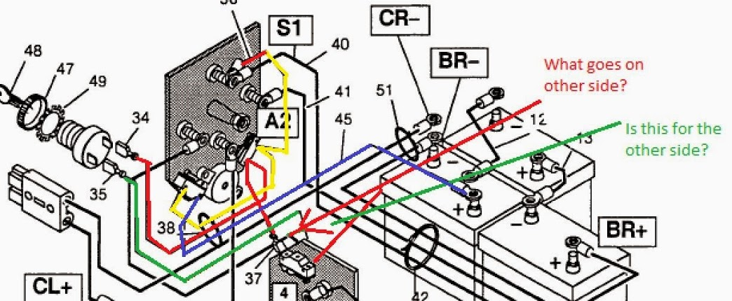 Ez Go Wiring Diagram Gas - Wiring Diagram