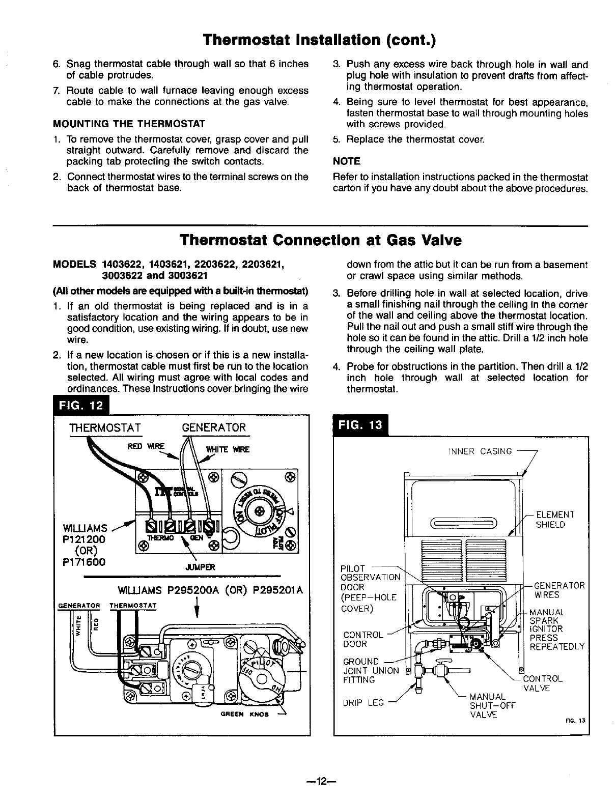 Wall Furnace Gas Valve Wiring - Maxon Bmr Wiring Diagram -  bathroom-vents.yenpancane.jeanjaures37.fr | Williams Wall Furnace Control Wiring Diagram |  | Wiring Diagram Resource