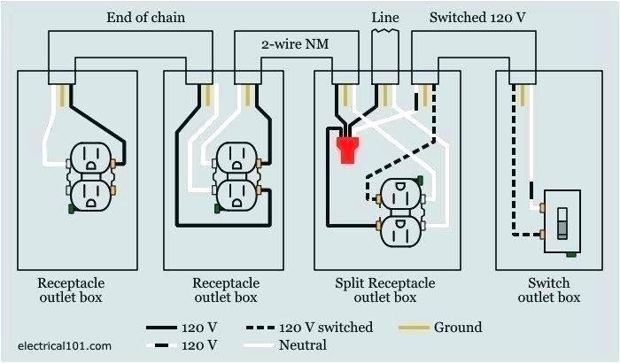 Cx 3216 Wiring A Split Switched Receptacle