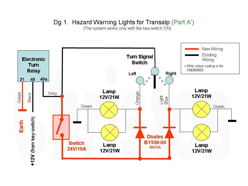 wiring diagram for motorcycle hazard lights mm 0132  trailer wiring diagrams likewise 3 pin flasher relay  trailer wiring diagrams likewise 3 pin