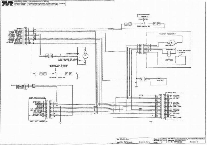 ee1943 e46 mirror wiring diagram free diagram