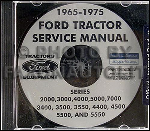 Peachy 1965 1975 Ford Tractor Repair Shop Manual 2000 3000 4000 5000 Wiring Cloud Intelaidewilluminateatxorg