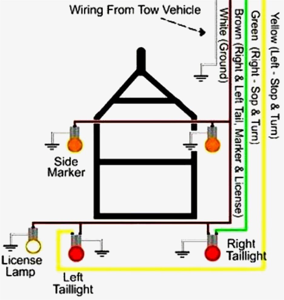 flat four trailer wiring diagram go 5017  britax automotive equipment trailer connector wiring diagrams  britax automotive equipment trailer