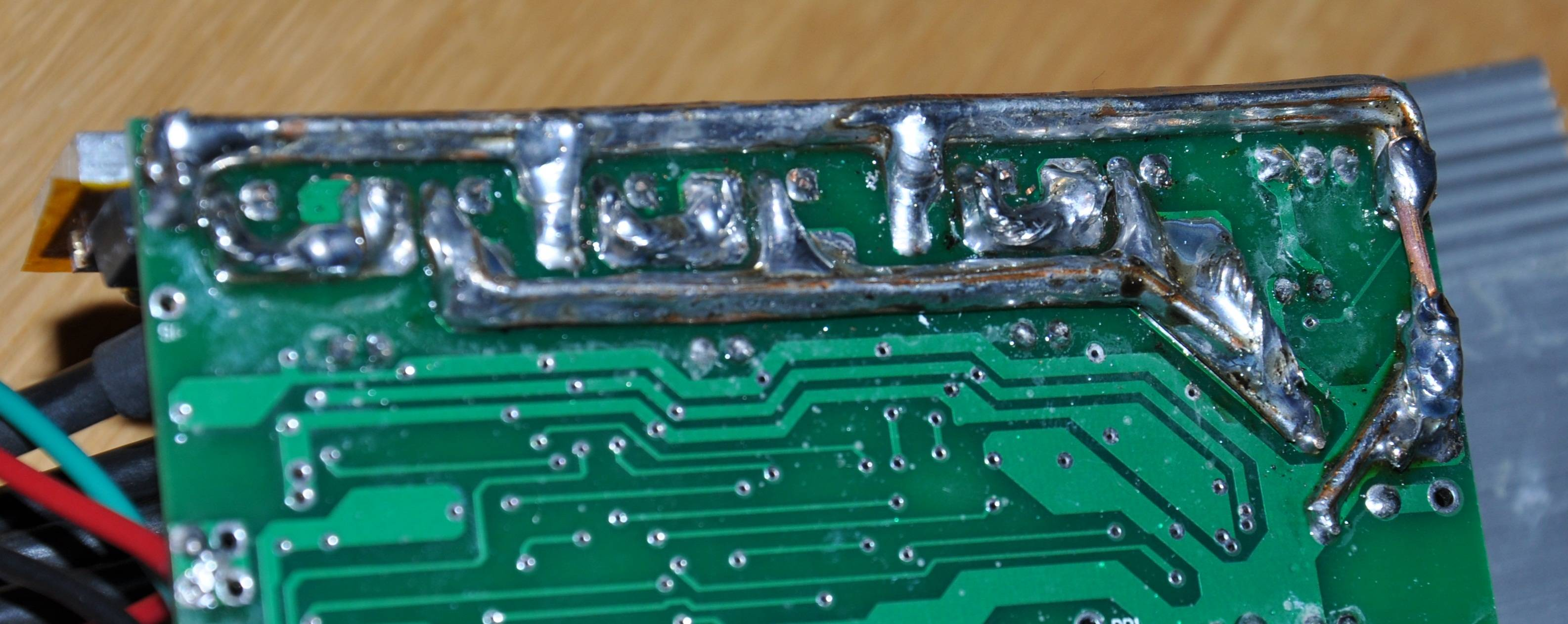 Stupendous Is Soldering Extra Wires To Increase Current Capacity On A Pcb Trace Wiring Cloud Ittabisraaidewilluminateatxorg