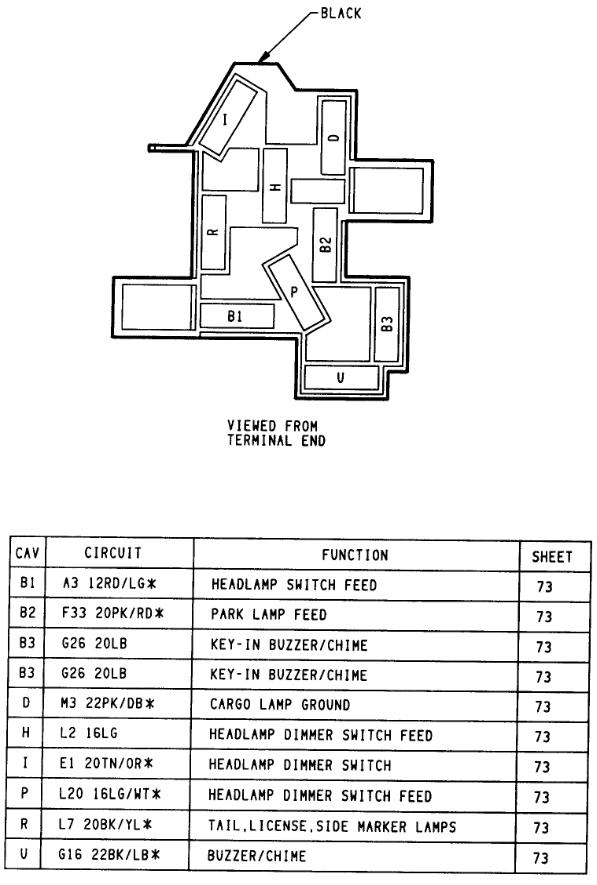 1994 dodge 2500 headlight switch wiring  wiring diagram