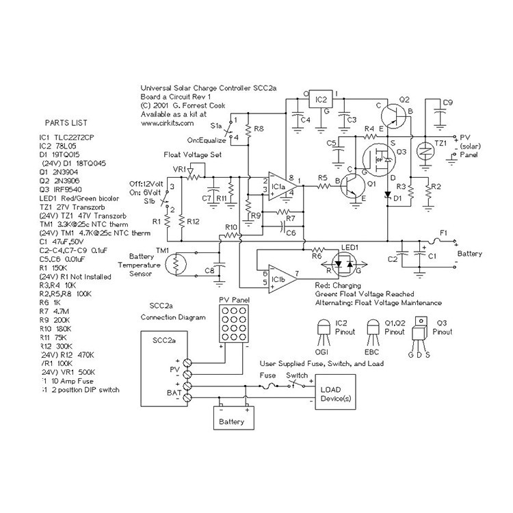 induction cooker circuit diagram 12v style 4 flat trailer