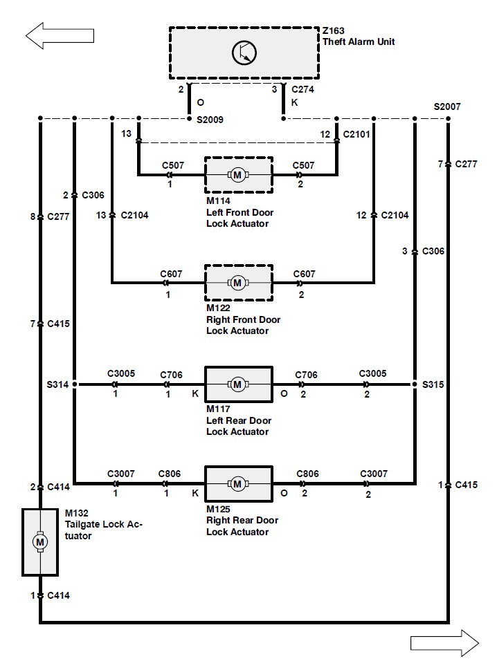 land rover wiring diagram key ys 0184  land rover discovery central locking wiring diagram  land rover discovery central locking