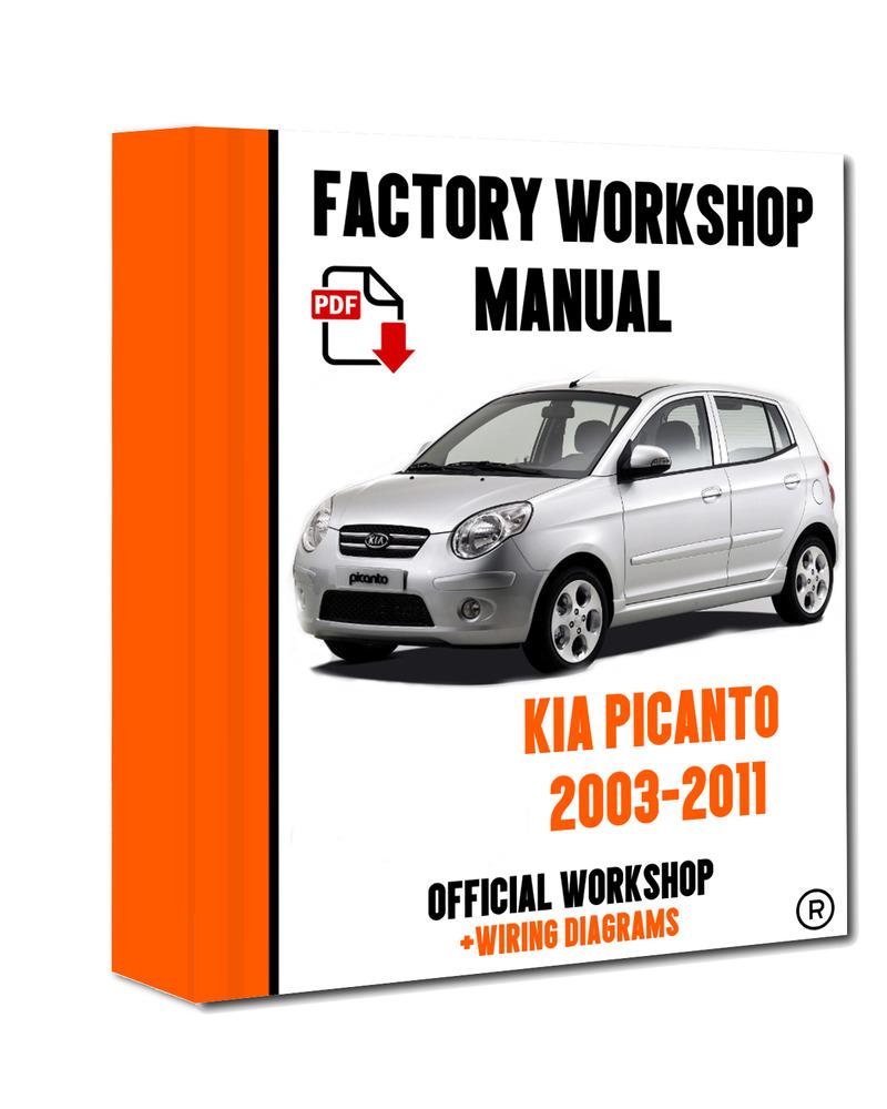 Other Car Manuals 2002 Kia Spectra Factory Service Manual ...