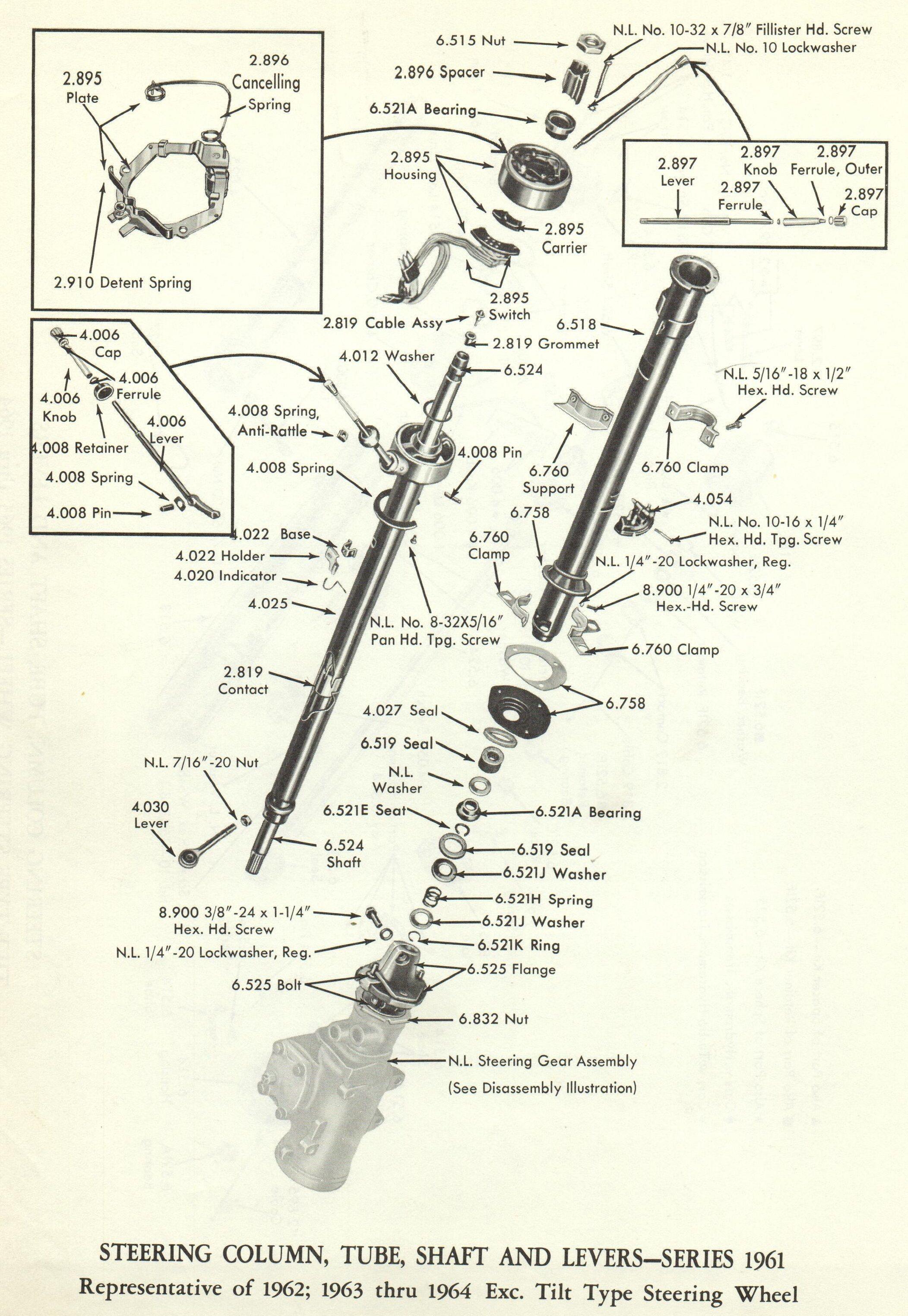 Xr 5851 Steering Column Wiring Diagram 1967 Camaro Steering Column Bearings Download Diagram