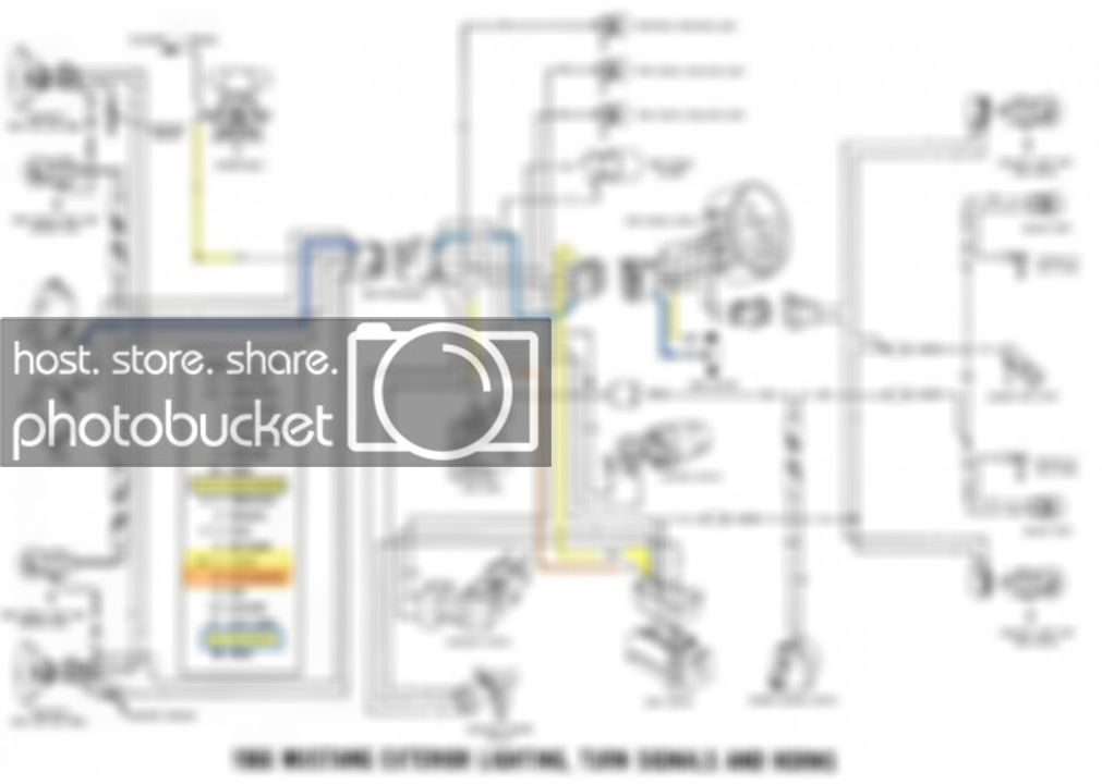 xd4921 66 mustang turn signal wiring diagram schematic wiring
