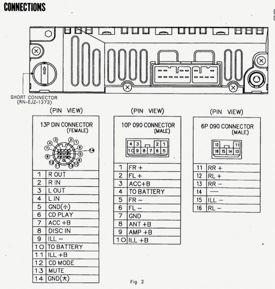 1999 Toyota Avalon Xls Radio Wiring Diagram