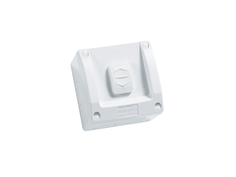 Incredible Clipsal Ws226 Surface Switch 1 Gang 1 Pole 250Vac 16A Ws Wiring Cloud Apomsimijknierdonabenoleattemohammedshrineorg