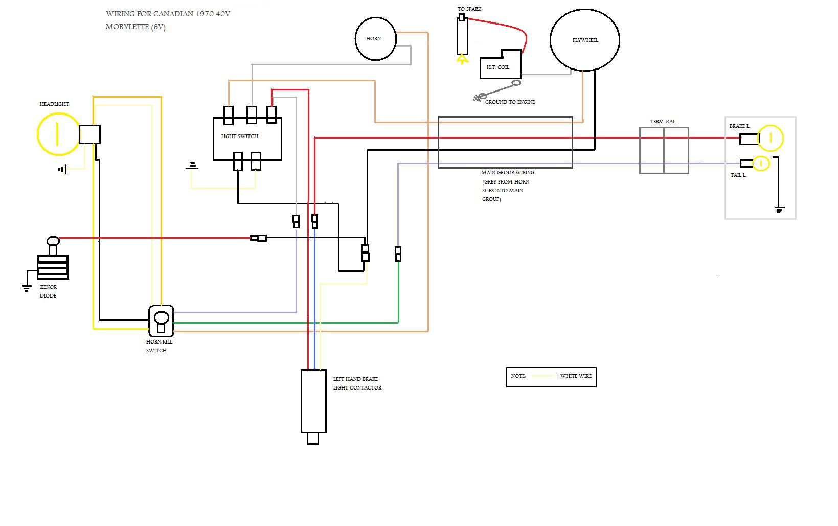 Motobecane Wiring Diagram