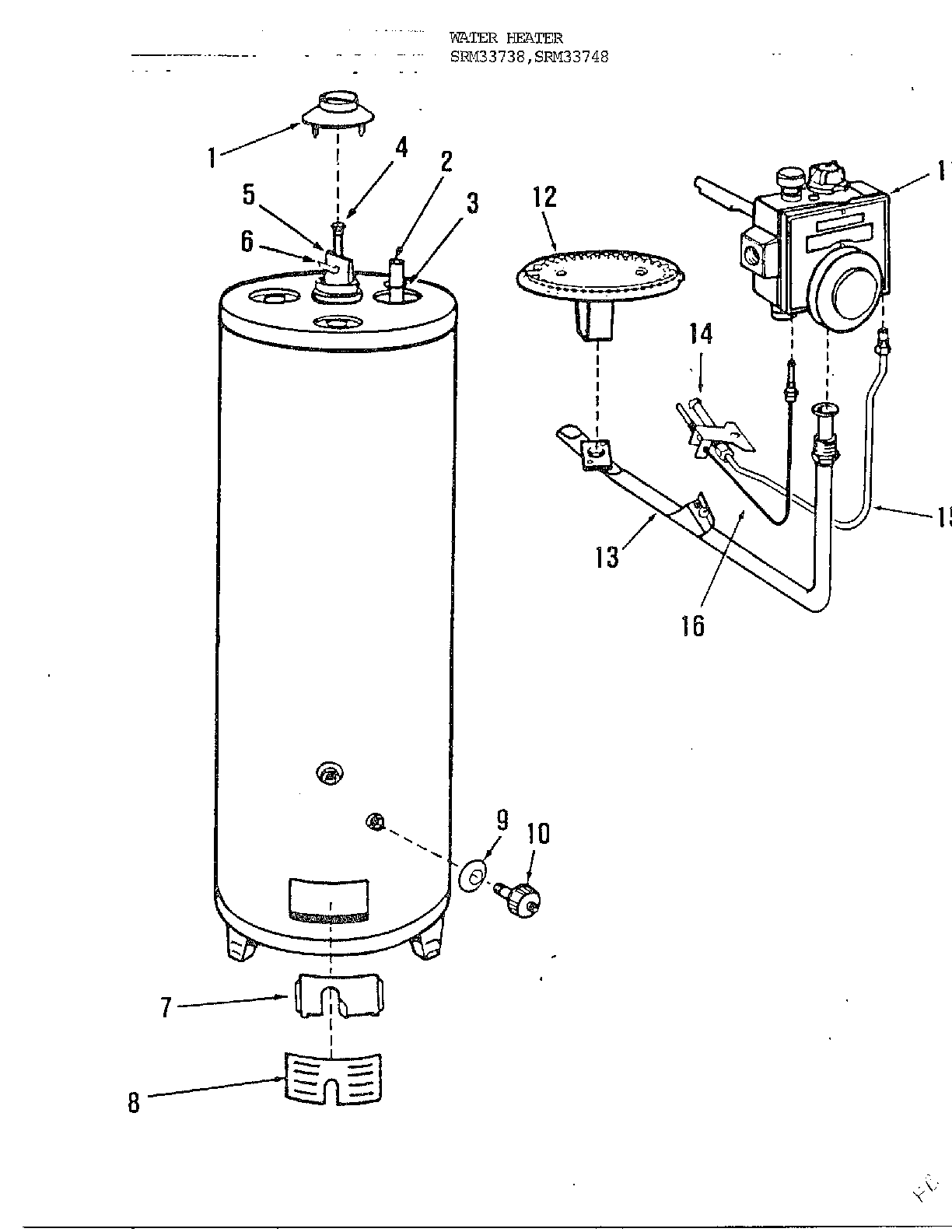 rheem water heater wiring schematic electric hot water heater parts diagram wiring diagram data  electric hot water heater parts diagram