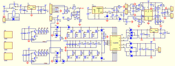 Tremendous Inverter Circuit Diagram 2000W Wiring Diagram Wiring Cloud Overrenstrafr09Org