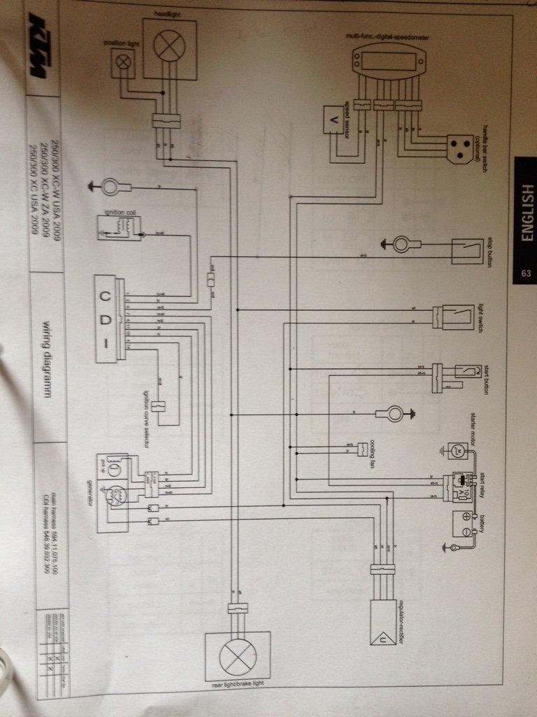 Ktm Lights Wiring Diagram