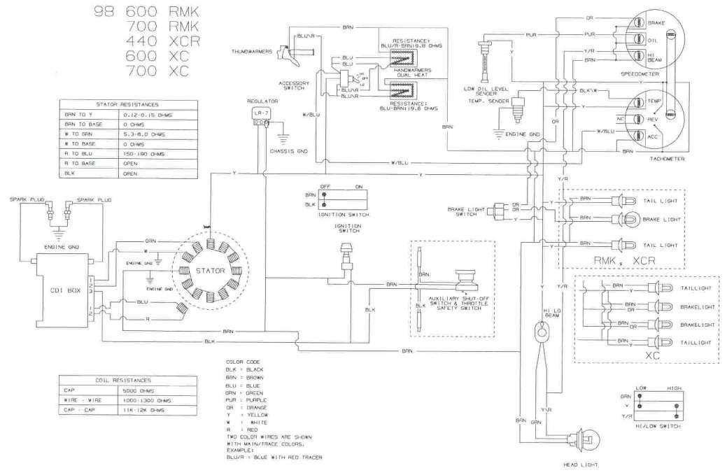wiring diagram polaris indy 600 ry 9717  98 polaris xc 600 wiring diagram wiring diagram  98 polaris xc 600 wiring diagram wiring