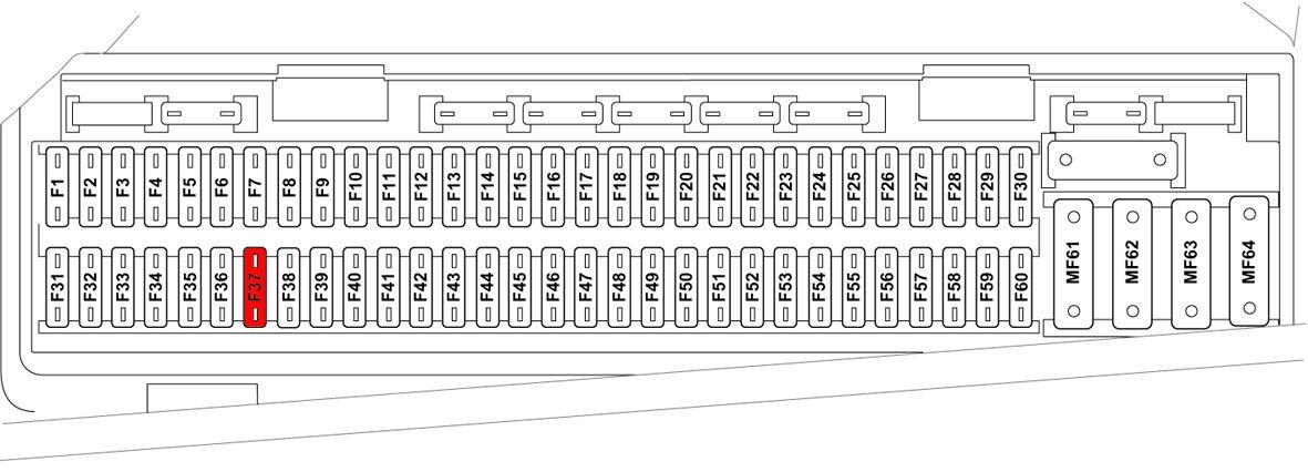 GF_0066] 2003 Range Rover L322 Main Fuse Box Diagram Schematic WiringAdit Itive Kapemie Aesth Jidig Isra Mohammedshrine Librar Wiring 101