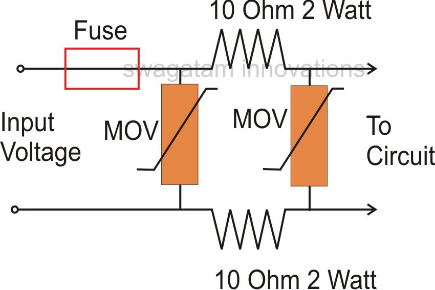 Remarkable Power Surge Protector Circuit Diagram Wiring Diagram Virtual Fretboard Wiring Cloud Overrenstrafr09Org