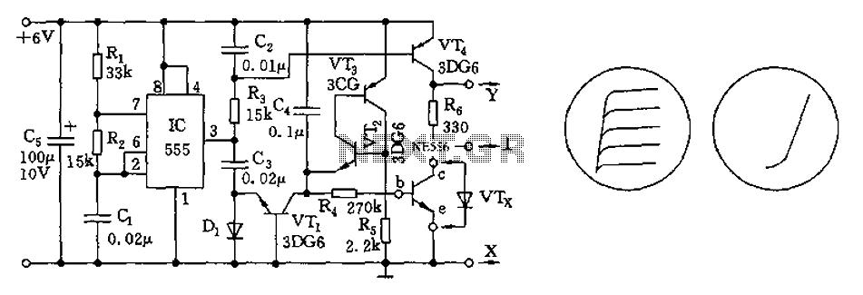 Wondrous 555 Transistor Characteristic Curve Tracer Circuit Diagram Under 555 Wiring Cloud Xortanetembamohammedshrineorg