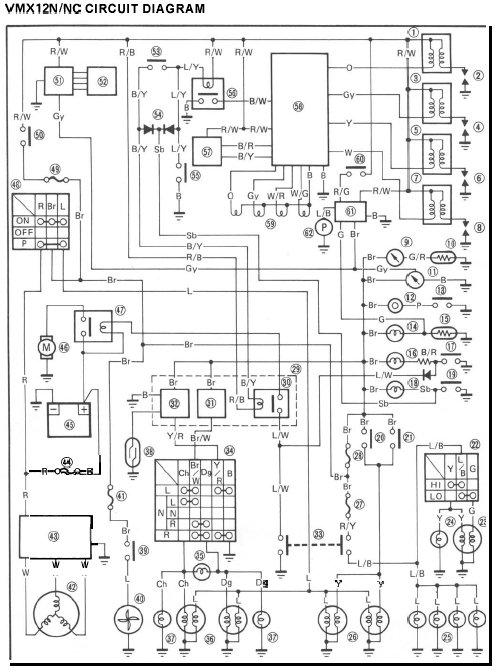 Yamaha Vmax Snowmobile Wiring Diagram