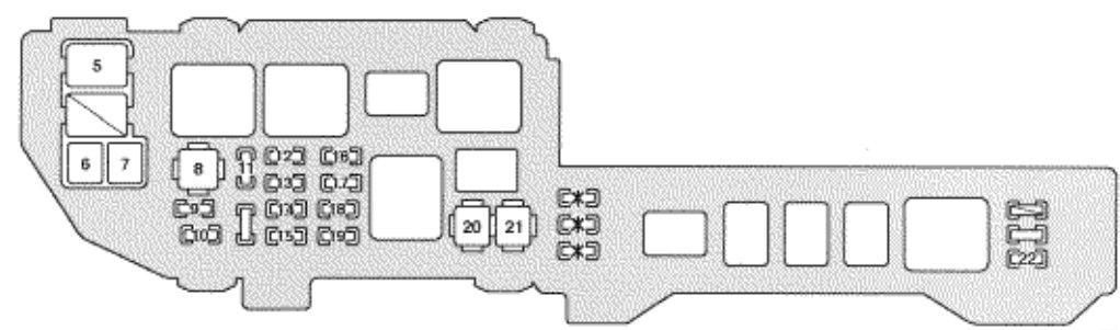 Stupendous Lexus Es300 Fuse Box Diagram Wiring Diagram Database Wiring Cloud Intelaidewilluminateatxorg