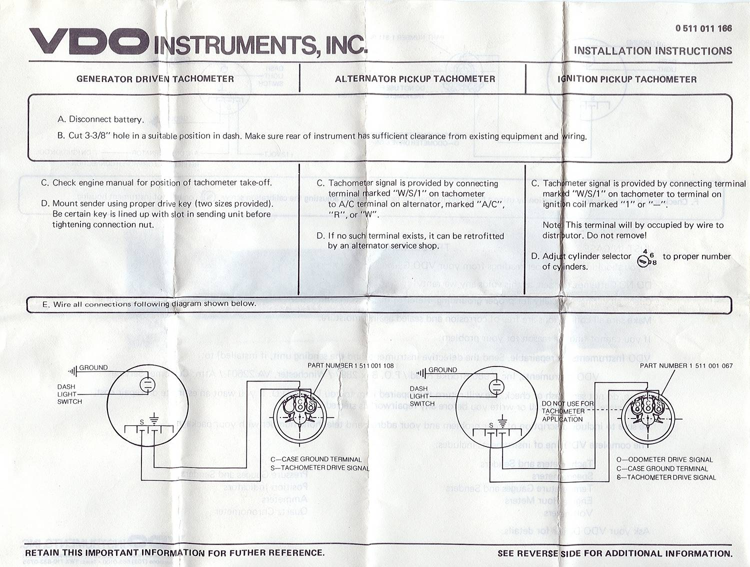 vdo gauge wiring diagram schematic oz 7353  vdo gauges wiring diagrams vdo tachometer wiring diagram  oz 7353  vdo gauges wiring diagrams vdo