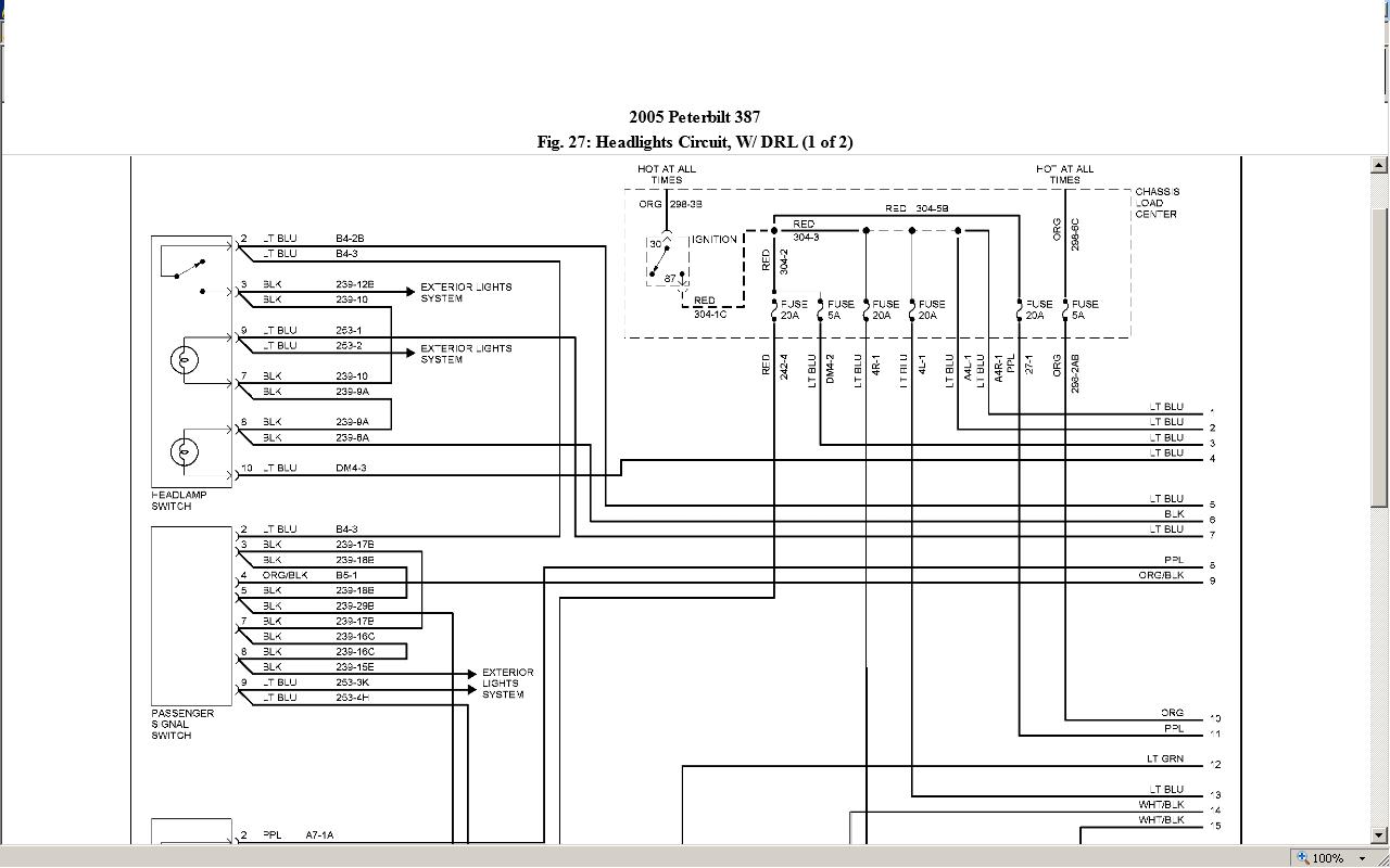 2000 Peterbilt 378 Wiring Diagram