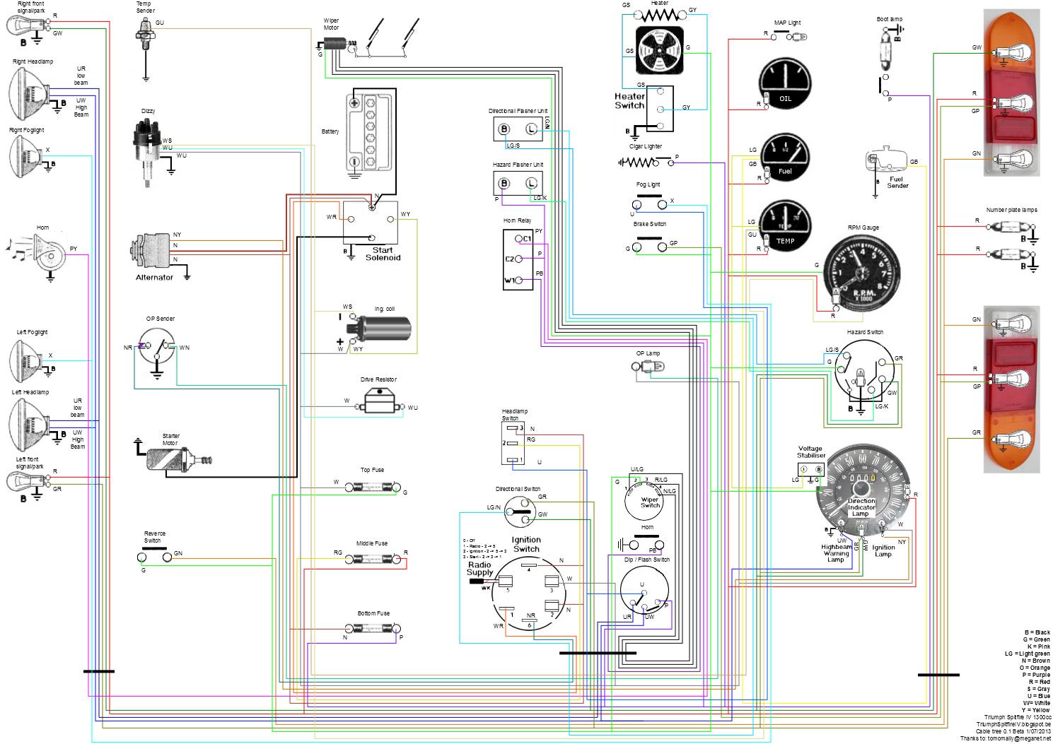 [DIAGRAM_1CA]  Triumph Tr3 Color Wiring Diagram - 3 Off Road Light Wiring Harness for Wiring  Diagram Schematics | Triumph Tr6 Wiring Diagram |  | Wiring Diagram and Schematics