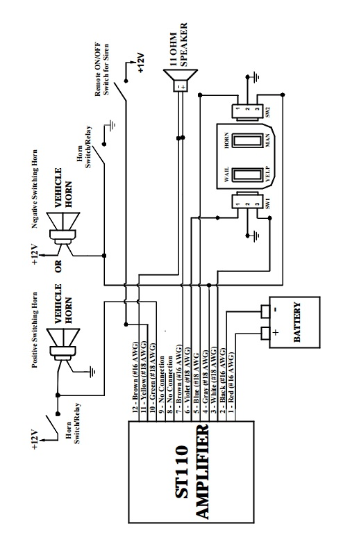 Galls 9 Function Switch Box Wiring Diagram