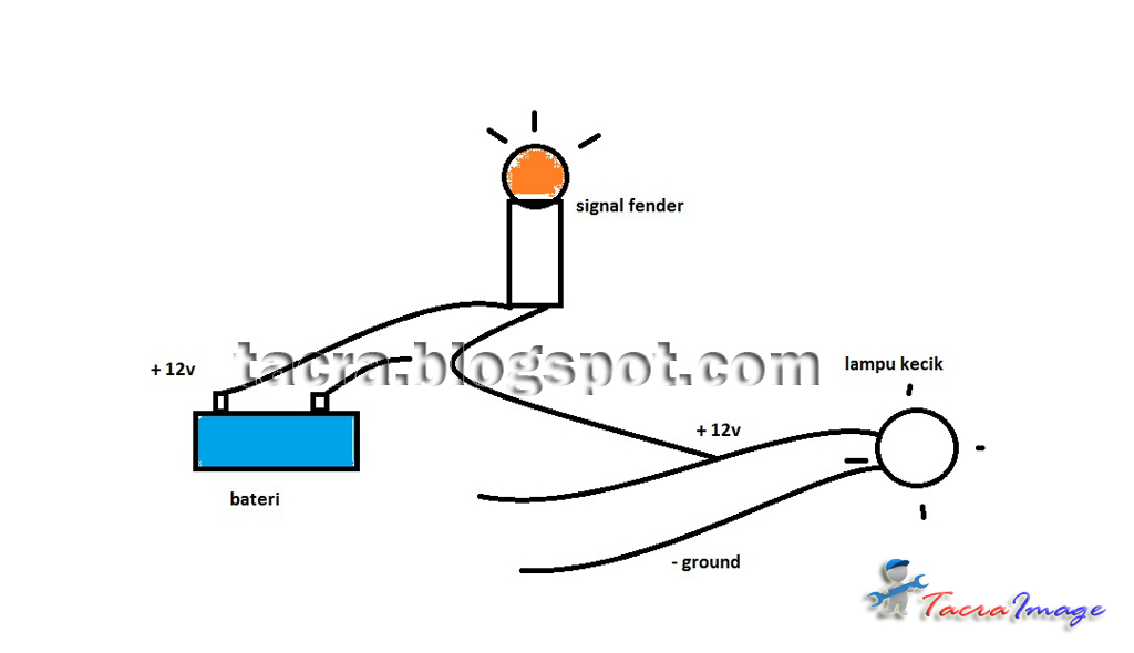 Wiring Diagram Lampu Tl